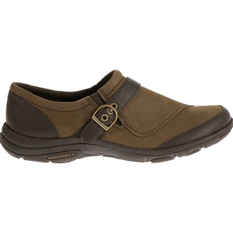 buckle shoes merrell s dassie buckle shoes char brown