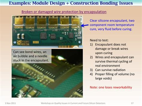 visitor pattern breaks encapsulation ppt wire bonding quality issues powerpoint presentation
