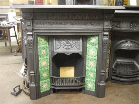 Vintage Fireplace by 282tc Antique Tiled Fireplace Fireplaces