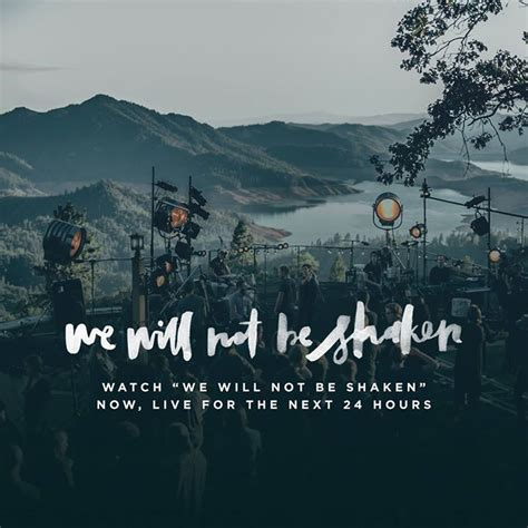 quot we will not be shaken was filmed on a mountaintop