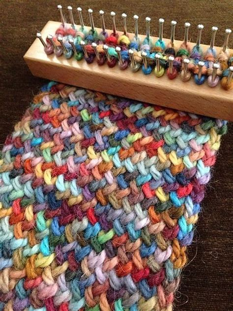 how to use a knitting board best 25 loom knitting ideas on loom patterns