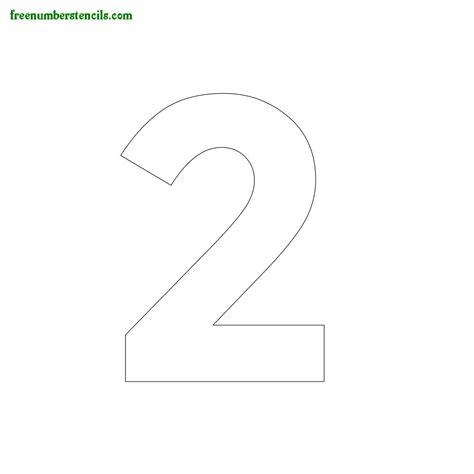modern number stencils online printable