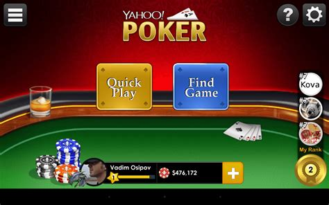 Poker Games Win Real Money - yahoo online poker could be first step towards real money