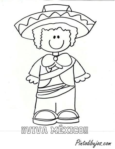 imagenes para colorear independencia de mexico pinto dibujos mexicano para colorear viva m 233 xico para