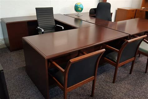 Office Furniture L Desk by Dfsi Houston Office Furniture Houston Tx