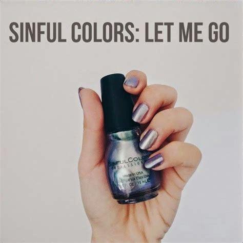 sinful colors let me go sinfulcolors let me go reviews photos makeupalley
