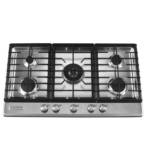 36 inch induction cooktop with downdraft kitchenaid 174 36 inch 5 burner gas cooktop architect