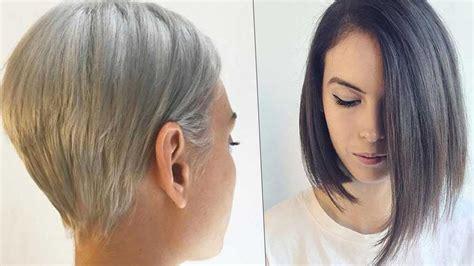 pelos cortos de moda cortes de cabello de mujer 2018 looks y tendencias