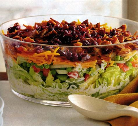 The Green Kitchen Stories - overnight layered lettuce salad carolina country