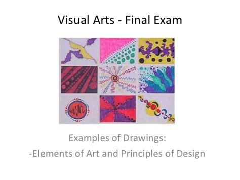 principles of art pattern exles final exam elements principles drawings