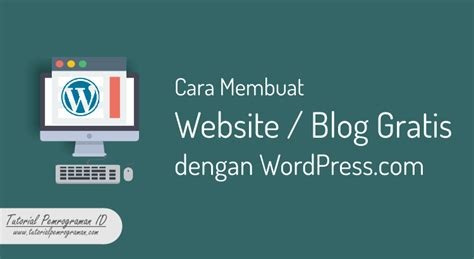 tutorial membuat website dengan wordpress xp welcome tutorial pemrograman id