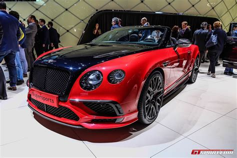 bentley continental supersports geneva 2017 bentley continental supersports coupe