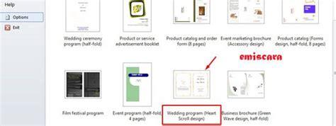 cara membuat undangan pernikahan sendiri dengan microsoft word 2007 cara membuat contoh undangan pernikahan sederhana dengan