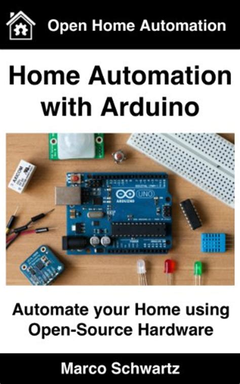 7 books of marco schwartz quot home automation with arduino