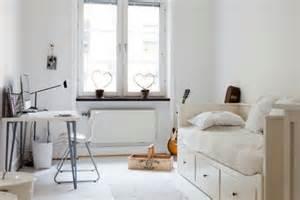 Charmant Deco Pour Chambre Fille #5: deco-chambre-ado-blanche.jpg