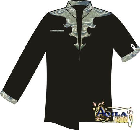 desain baju batik vektor desain kemeja batik kombinasi batik aneka batik baju