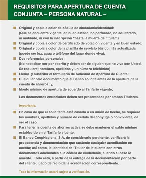 requisitos para creditos personales banco nacion requisitos para credito personal banco nacional