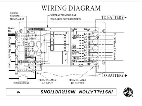 rv power converter wiring diagram gooddy org