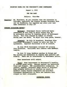8 1 63 briefing paper john f kennedy presidential