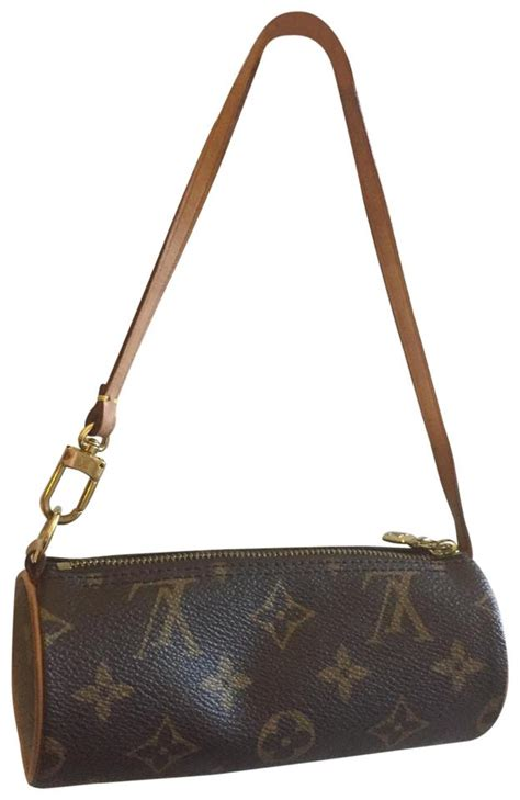 monogram leather mini zipper bag  tradesy