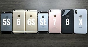 Image result for iphone se vs 5s iphone 7. Size: 299 x 160. Source: twitter.com