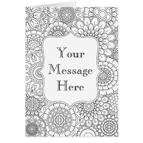 birthday gifts for coloring book for your or for bday coloring book nature themed birthday gift idea books coloring book personalized greeting card zazzle