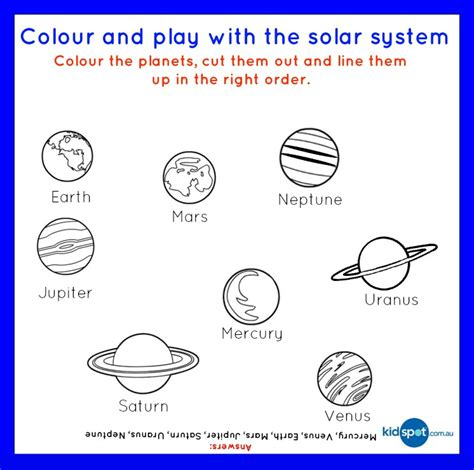 Solar System Worksheet by Worksheets Solar System Page 5 Pics About Space