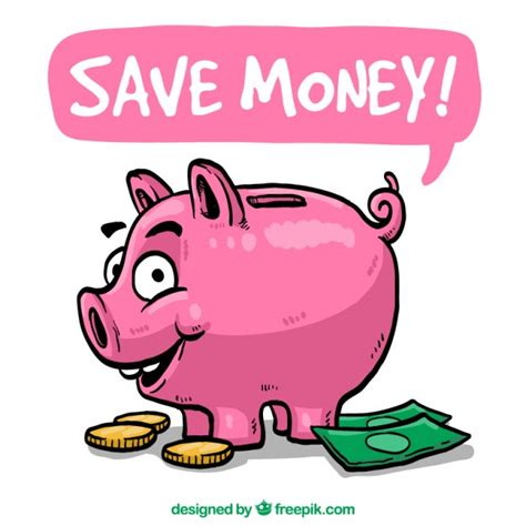Save Money Clipart save money illustration vector free