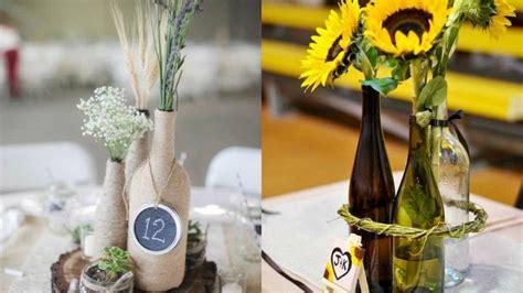 como decorar botellas de vino con flores decorablog revista de decoraci 243 n
