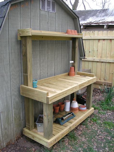 how to build an outdoor bench with back outdoor potting benches how to build a simple outdoor potting bench home design