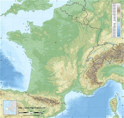 ROAD MAP SAINT JEAN LE BLANC : maps of Saint Jean le Blanc 45650