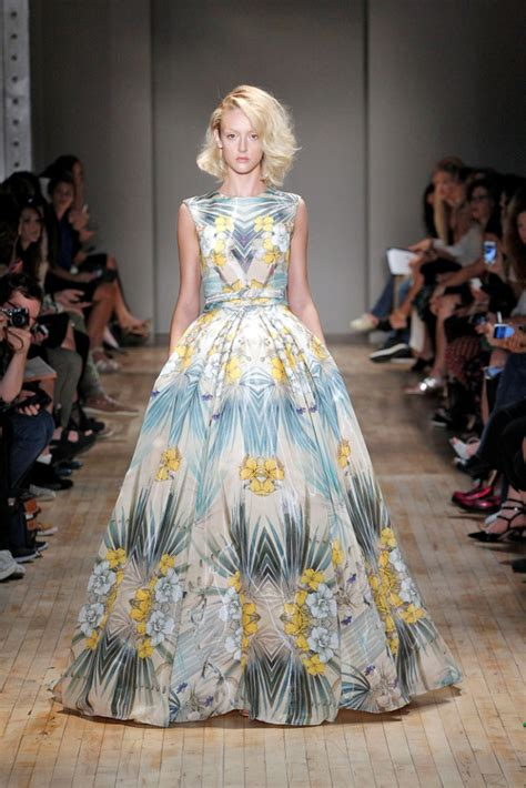 Branded Ny Collection Tosca Colorful Flower Dress packham ss 2015 ready to wear collection