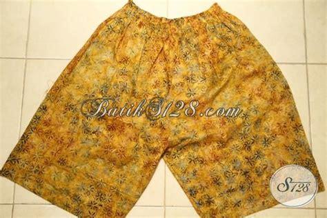 Celana Pendek Motif Grosir by Grosir Eceran Aneka Celana Pendek Motif Batik Terbaru