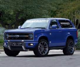2018 ford bronco release date price redesign and interior
