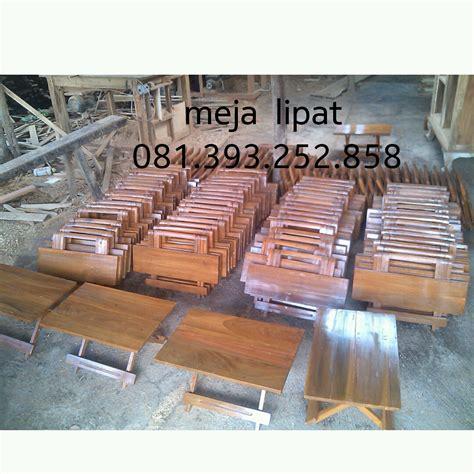 Meja Kayu Lipat Meja Belajar Meja Ngaji jual meja lipat kayu dari pengrajinnya langsung