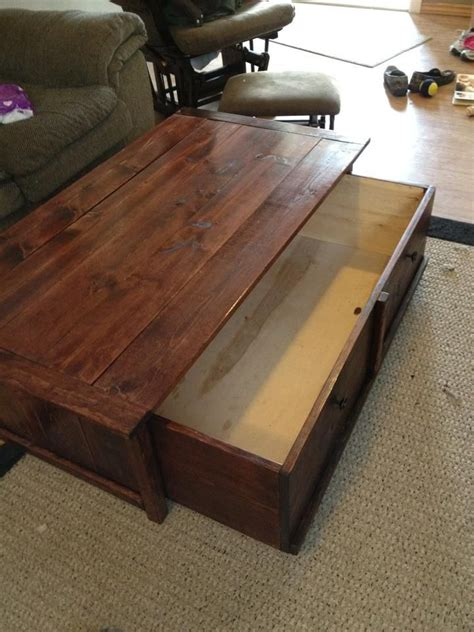 coffee table with gun storage plans best 25 coffee table storage ideas on folding