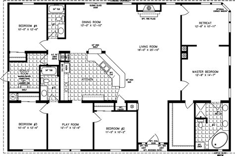 1400 to 1599 sq ft manufactured home floor plans 1400 to 1599 sq ft manufactured home floor plans jacobsen