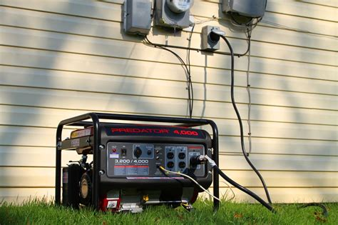 the best way to safely power a home with a portable