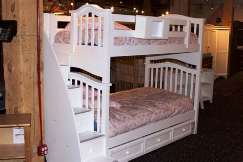 White Bunk Bed With Desk And Stairs White Bunk Bed With Desk And Stairs Whitevan