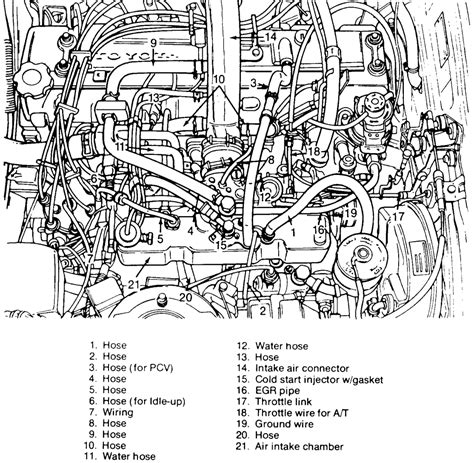 22re engine diagram 22r motor mount bolts wiring diagrams wiring diagram schemes