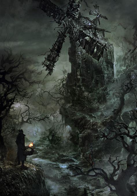 film fantasy medievale concept art bloodborne wiki