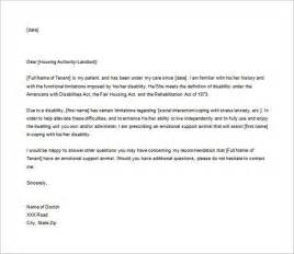 Emotional Support Animal Letter Template by Emotional Support Animal Letter To Landlord Best