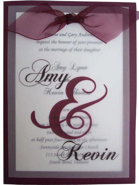 translucent overlay wedding invitations 17 best ideas about plum wedding invitations on