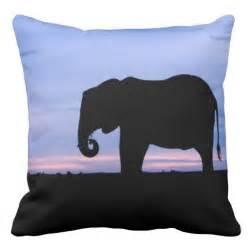 Buy Pillows Near Me Elephant Silhouette Near Pool Pillows Zazzle