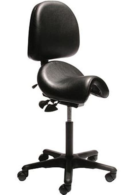 Saddle Chair With Back Support by Bambach Saddle Seat Bambach With Back