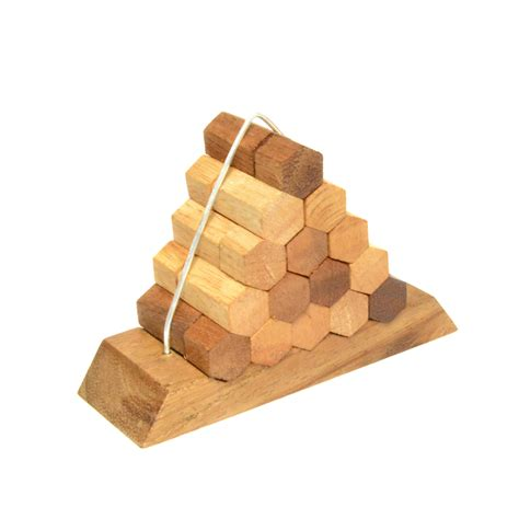 woodworking puzzle beehive pyramid puzzle wooden woodworking