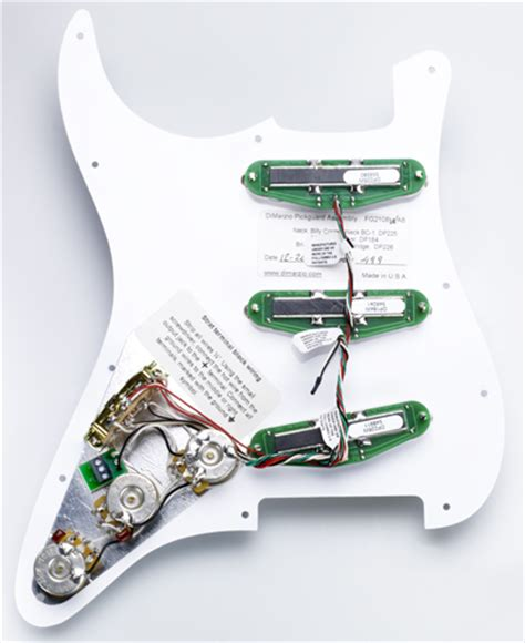 billy corgan strat 174 replacement pickguard dimarzio