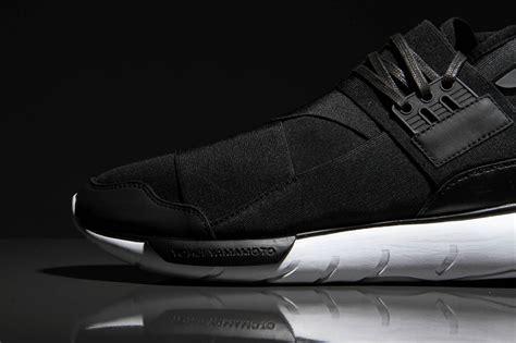 Premium Adidas Y3 Qasa High Black White 1 adidas y 3 qasa high black white sneaker bar detroit