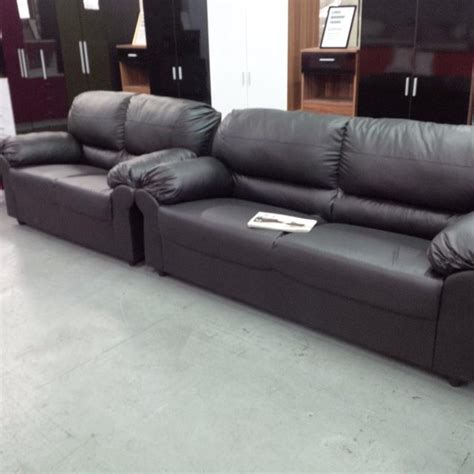 second hand black leather sofas for sale 3 and 2 seater black leather sofas second hand household