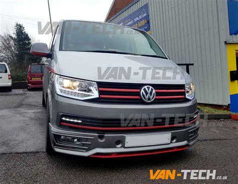 volkswagen light vw transporter t6 led drl light bar headlights van tech